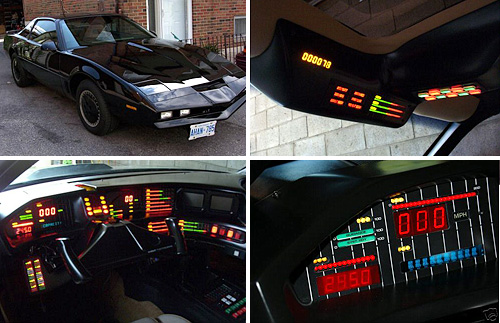 1984 Pontiac Trans Am KNIGHT RIDER Replica (Image courtesy eBay)