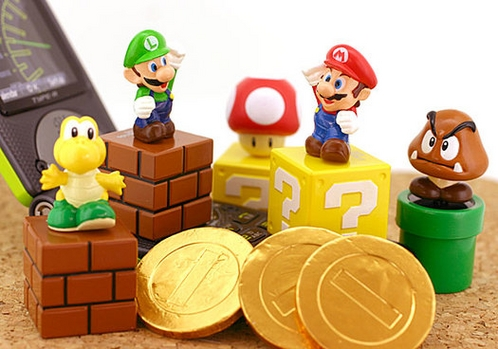 super mario bros. chocolates