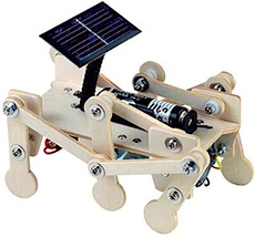 Solar Powered Mars Explorer Kit (Image courtesy EcoCentric)