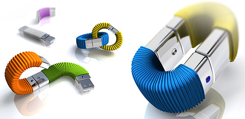 Memory Infinite USB Storage (Images courtesy Yanko Design)