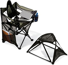 Portable Outdoor Laptop Chair (Image courtesy Hammacher Schlemmer)