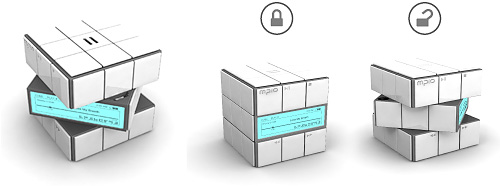 Rubik's Cube MP3 Player (Image courtesy Yanko Design)