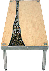 Tavelland River Table (Image courtesy Elseware Design)