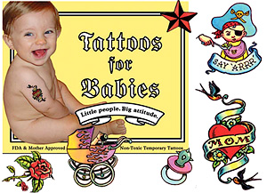 Baby Tattoos (Image courtesy Perpetual Kid)