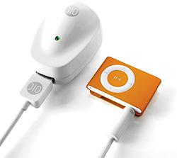 DLO PowerBug for iPod Shuffle (Image courtesy Newlaunches)