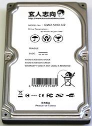2.5 Inch Hard Case Disk Case (Image courtesy GeekStuff4U.com)