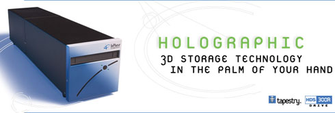 InPhase Holographic Storage