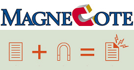MagneCote Magnetic Paper (Images courtesy MagneCote)