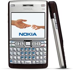 Nokia E61i (Image courtesy Nokia)