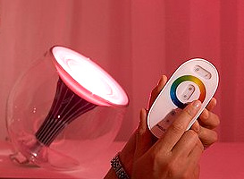 Philips LivingColors Lighting Concept (Image courtesy Philips)