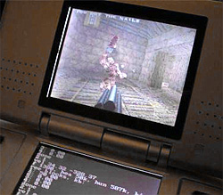 Quake on the DS (Image courtesy DrunkenCoders)