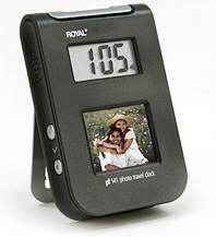 Ryoal PF141 Travel Clock With Picture Frame (Image courtesy Royal)