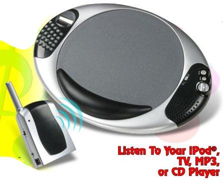 wireless speaker mousepad