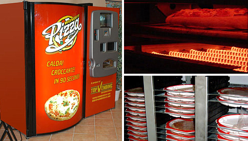 Wonder Pizza Vending Machine (Image courtesy Wonder Pizza USA)