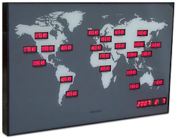 World Time Clock (Image courtesy Crazy About Gadgets)