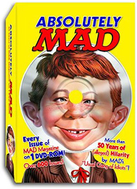 Absolutely MAD Magazine DVD Archive (Image courtest Amazon)