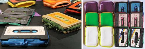 Retro Cassette Wallets (Images courtesy designboom)
