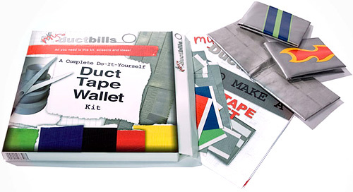 db clay myDuctbills Wallet Kit (Image courtesy db clay)