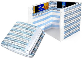 Dot Matrix Tyvek Wallet (Image courtesy Perpetual Kid)