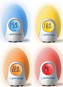 grobag egg Room Thermometer (Images courtesy grobag)