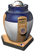 MLB Funerary Urns (Image courtesy Eternal Image)