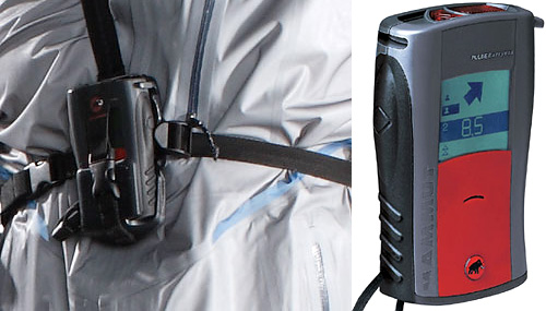 Pulse Barryvox Avalanche Transceiver (Images courtesy Popular Science and Mammut)