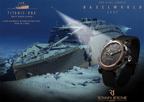 Romain Jerome Titanic DNA Watch (Image courtesy Romain Jerome)