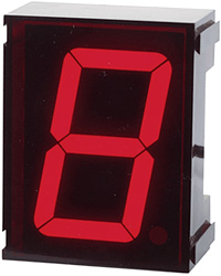 Jumbo Single Digit Clock (Image courtesy Ramsey Electronics)