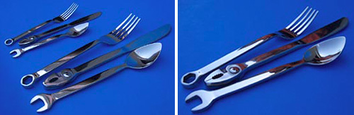 Tool Silverware (Image courtesy Everythingcarz.com)