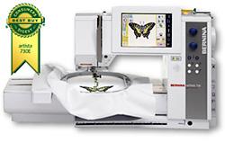Artista 730E Sewing Machine (Image courtesy Bernina)