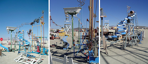 Full Scale Mouse Trap Game (Images courtesy Make: Blog, 'ed's point of view' via Flickr)