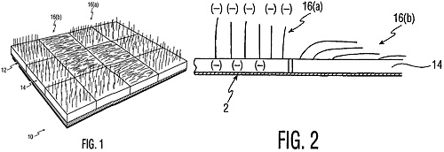Philips Fabric Display Patent (Image courtesy US Patent & Trademark Office)