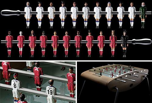Good Versus Evil Foosball Table (Images courtesy 20ltd.com)