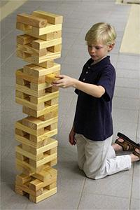 Outdoor Building Block Game (Image courtesy Hammacher Schlemmer)