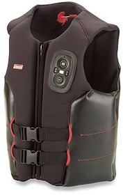 Two-Way Radio Life Vest (Image courtesy Hammacher Schlemmer)