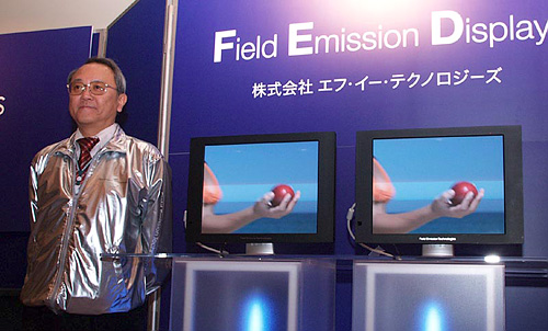 Sony Field Emission Display Technology (Image courtesy AV Watch)