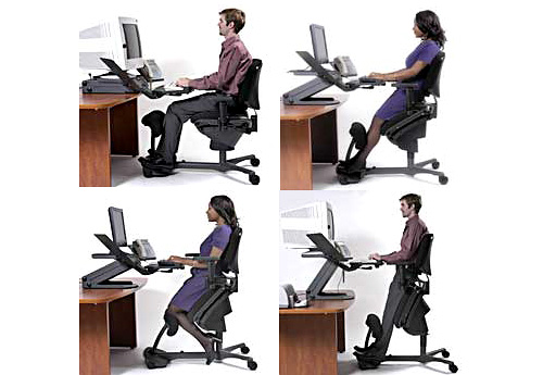 Stance Angle Chair (Images courtesy HealthPostures)