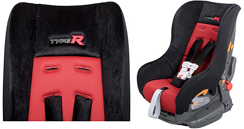 Honda Type R Child Seat (Image courtesy CARSCOOP)