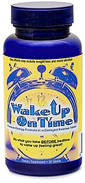 Wake Up On Time Pills (Image courtesy Wakeupontime.com)