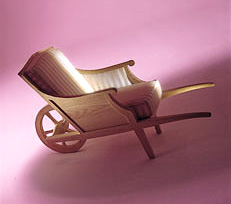 Wheelbarrow Chair (Image courtesy xO Design)