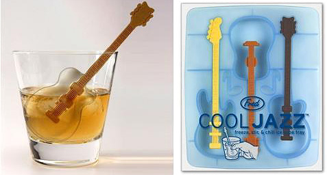 Cool Jazz - Ice Cube Guitar Stirrers (Image courtesy Verbena)