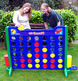 Giant Connect 4 (Image courtesy Masters Games Ltd.)