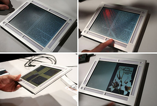 HP Concept eBook Reader (Image courtesy Pocket-lint)