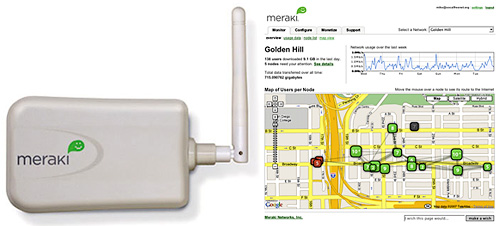 Meraki Mini & Dashboard (Images courtesy Meraki)