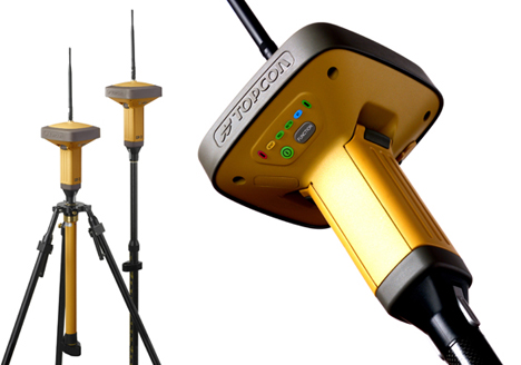 topcon gr3 gps system can pinpoint your location within millimeters ohgizmo. Black Bedroom Furniture Sets. Home Design Ideas