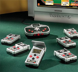 Wireless Multi-Player Poker Game (Image courtesy Hammacher Schlemmer)