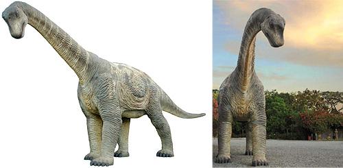 Full Size Camarasaurus Replica (Images courtesy Drinkstuff.com)