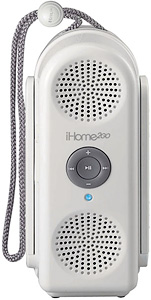 iHome iH20W Water Resistant iPod Speaker (Image courtesy iHome)