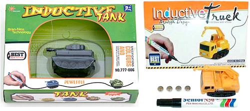 Inductive Tank & Truck (Images courtesy Germes-online.com & Hobbytron.com)