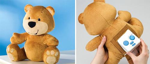 Authentic Prenatal Sound Teddy Bear (Images courtesy Hammacher Schlemmer)